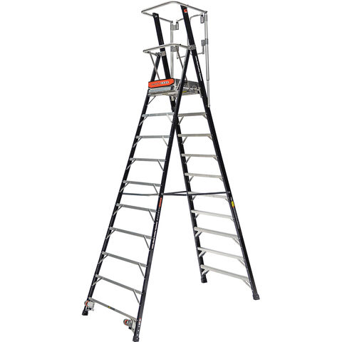 Image of Little Giant Little Giant 10 Tread 2.62m Safety Cage Step