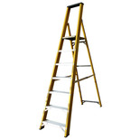 Lyte GFBP7 7 Tread Glassfibre Platform Step Ladder