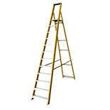 Lyte GFBP12 12 Tread Glassfibre Platform Step Ladder