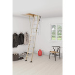 Youngmans 'CLICK FIX' 26 Timber Loft Ladder