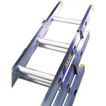 Lyte ELT325 3 Section Trade Extension Ladder 2.42m-5.22m