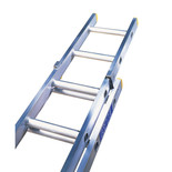 Lyte ELT250 2 Section Trade Extension Ladder 4.92m-8.83m