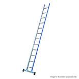Tubesca 3.6m Pro Platinium Single Aluminium Ladder