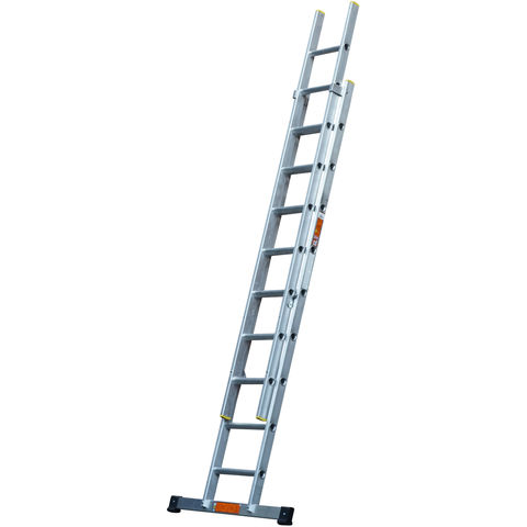 Image of T. B. Davies TB Davies 2.5m Pro Trade 2 Section Extension Ladder with Stabiliser Bar