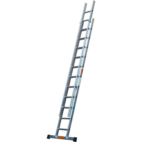 Image of T. B. Davies TB Davies 3m Pro Trade 2 Section Extension Ladder with Stabiliser Bar