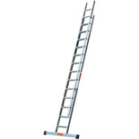 TB Davies 3.5m Pro Trade 2 Section Extension Ladder with Stabiliser Bar