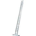 TB Davies 5.5m Pro Trade 2 Section Extension Ladder with Stabiliser Bar