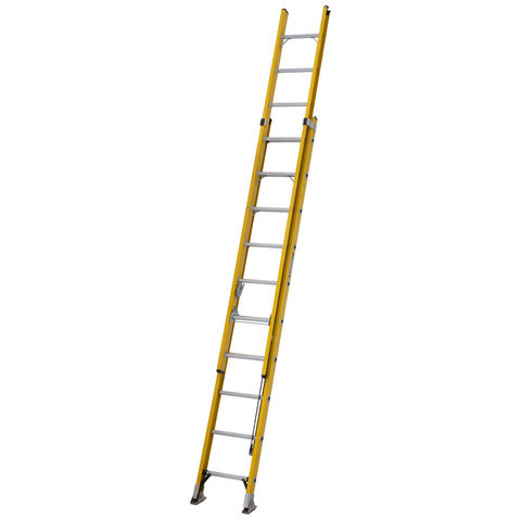 Image of Werner Werner 3.1m Alflo Fibreglass Trade Double Extension Ladder