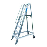 Lyte WS5 5 Rung Aluminium Warehouse Steps