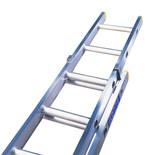 Lyte ELT225 2 Section Trade Extension Ladder 2.42m-3.82m