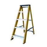 Lyte GFBB5 5 Tread Glassfibre Swingback Step Ladder