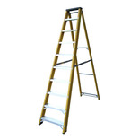 Lyte GFBB10 10 Tread Glassfibre Swingback Step Ladder