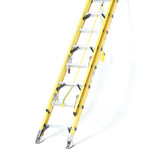 Summit 3.7m Trade Double Section GRP Extension Ladder