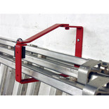 Universal Lockable Ladder Storage Bracket