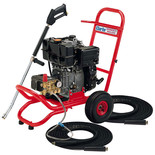 Clarke DLS200AL Heavy Duty Diesel Pressure Washer - 2900 psi