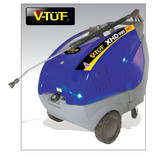 V-TUF XHD995HOT 4kW 3 Phase Extra Heavy Duty Hot Water Pressure Washer (400V)