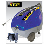 V-TUF XHD995HOTHR 4kW 3 Phase Extra Heavy Duty Hot Water Pressure Washer (400V)