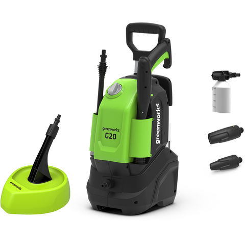 Image of Greenworks Greenworks G20 1.4kW Pressure Washer (230V)