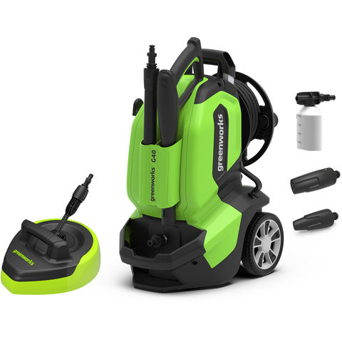Image of Greenworks Greenworks G40 1.9kW Pressure Washer (230V)