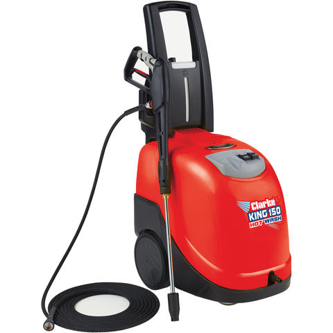 Image of Clarke Clarke King 150 Hot Pressure Washer