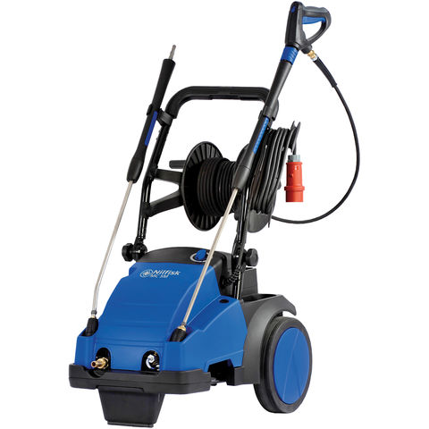 Image of Nilfisk ALTO Nilfisk ALTO MC 5M-100/770 XT 5-32 PAXT Cold Water Industrial Pressure Washer With Hose Reel