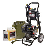 SIP TP550/206 Petrol Pressure Washer, Fuel Can, Oil & Detergent Package