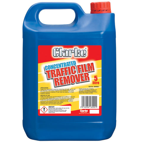 Image of Clarke Clarke Traffic Film Remover Concentrate - 5L
