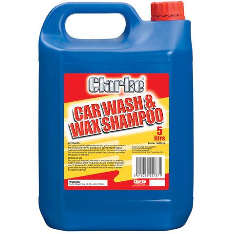 Image of Clarke Clarke Wash & Wax Car Shampoo