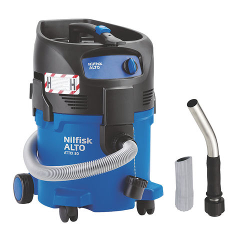 Image of Nilfisk ALTO Nilfisk ATTIX 30-0H PC H Class Safety Wet & Dry Vacuum Cleaner (110V)
