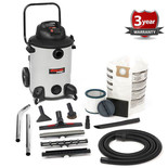 Shop Vac P16-SQ185 Pro 60l Wet and Dry Vacuum Cleaner (230V)