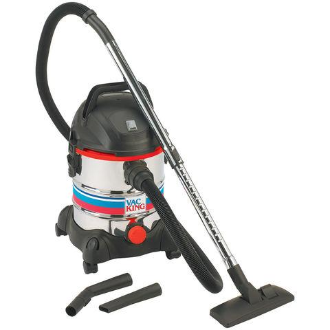 Image of Vac King Vac King CVAC20SS Wet & Dry Vacuum Cleaner (230V)