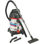 Vac King CVAC25SS Wet & Dry Vacuum Cleaner (230V)