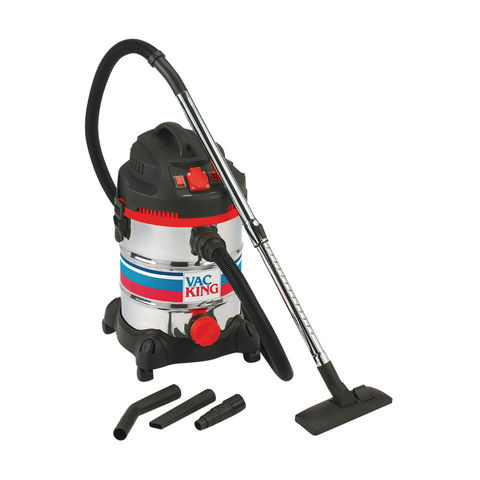 Image of Vac King Vac King CVAC30SSR Wet & Dry Vacuum Cleaner (230V)