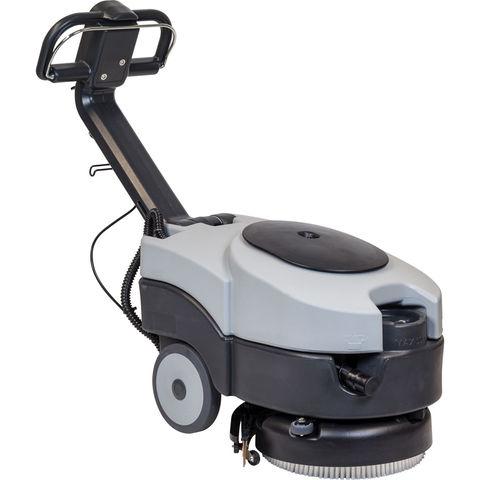 Image of SIP SIP SD1260BAT 360mm Walk-Behind Floor Scrubber Dryer (12V)