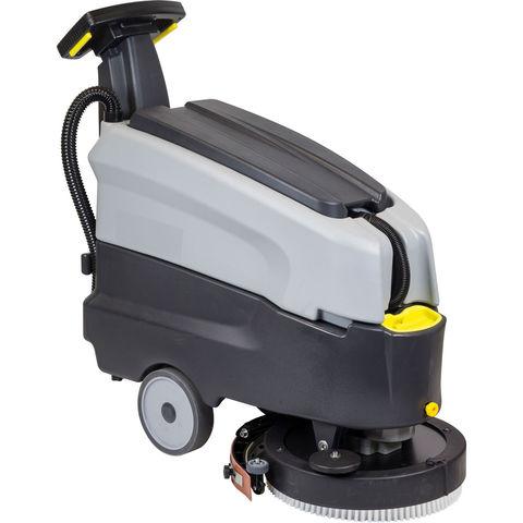 Image of SIP SIP SD1600BAT Walk-Behind Floor Scrubber Dryer (12V)