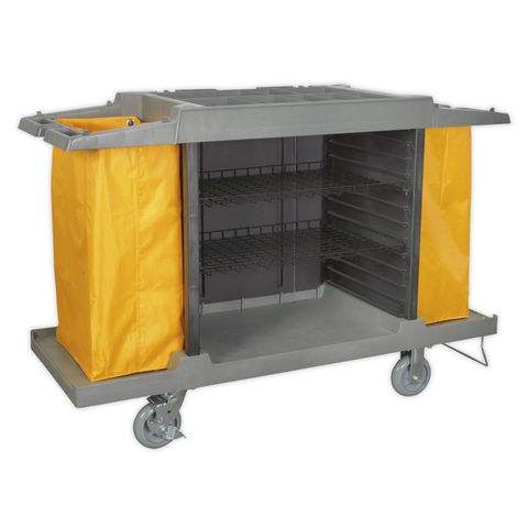 Image of Sealey Sealey BM32 Janitorial/ Housekeeping Cart