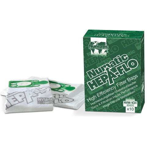 Image of Numatic Numatic 10 Pack NVM-2BH Hepaflo Filter Bags