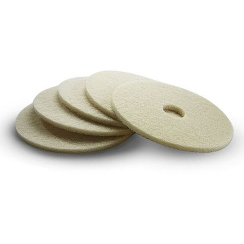 Image of Karcher Karcher Soft Beige Floor Pads Pack Of 5