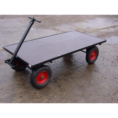 Image of SCH Supplies SCH FBT3 Four Wheel Turn Table Trolley