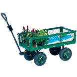 Clarke GT2 Drop Sided Towable Garden Trolley