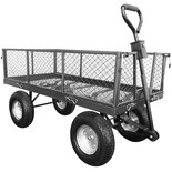 Handy THLGT 350kg Large Garden Trolley