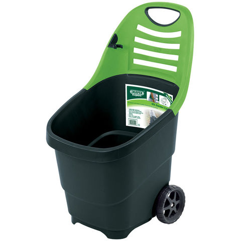 draper garden caddy with wheels machine mart machine mart. Black Bedroom Furniture Sets. Home Design Ideas
