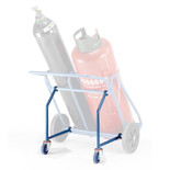 Barton Oxy/Propane Double Cylinder Trolley Rear Wheel Attachment