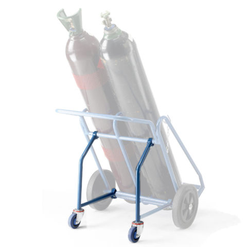 Image of Barton Storage Barton Oxy/Acetylene Cylinder Trolley Rear Wheel Attachment