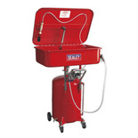 Sealey SM224 Air Operated Mobile Parts Cleaner with Reservoir