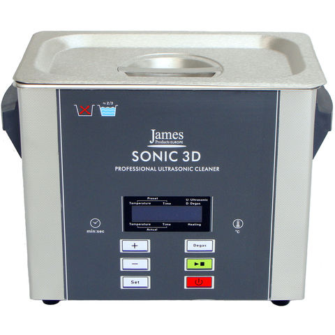 Image of James Products James Products SONIC3D 3L Ultrasonic Cleaner