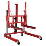 Sealey W508T 500kg Wheel Removal Trolley Adjustable Width
