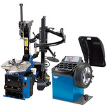 Draper TC200/WB100 Tyre Changer with Assist Arm and Wheel Balancer Kit