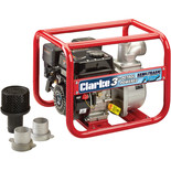 "Clarke PS75 Petrol Powered 3"" Semi-Trash Water Pump"