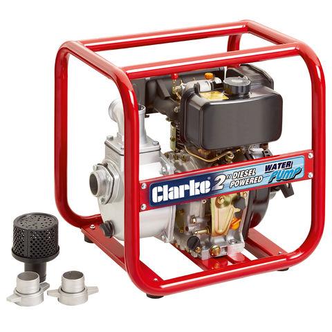 "Image of Clarke Clarke DW50 2"" Diesel Powered Water Pump"